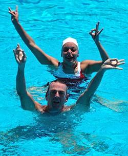 Aquatics – Synchronized Swimming