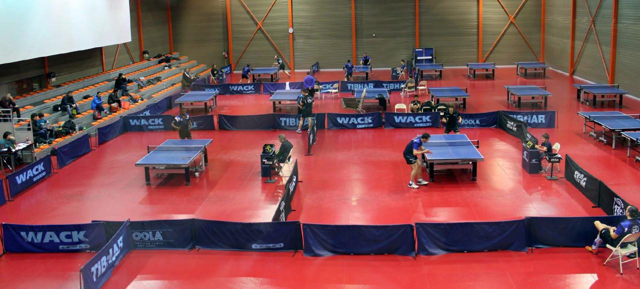 Salle de tennis de table georges carpentier paris 2018 - Robot tennis de table occasion ...